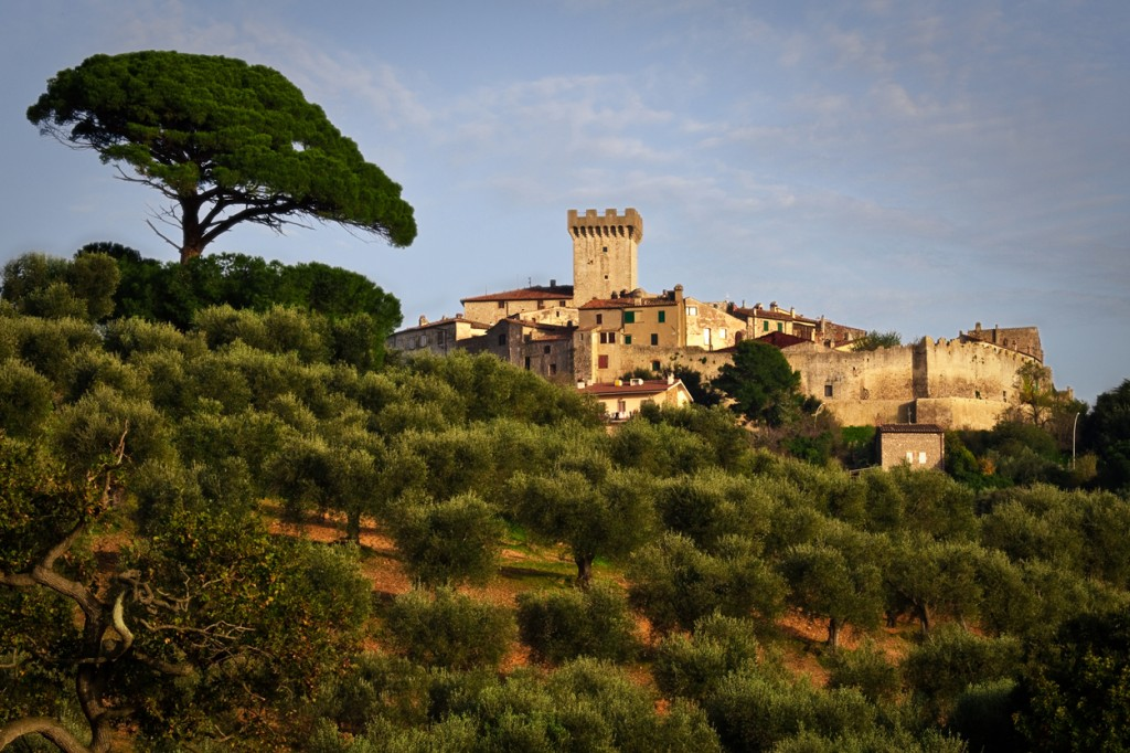 William Bailey Travel Explores Capalbio